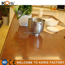 2016 decoration material acrylic solid surface table top material