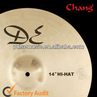"B20 Hot Sale Chang Hi-hat Cymbals-13"",14"" For Drumset Cymbals"