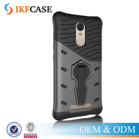 2016 Cover For Xiaomi Redmi Note 3 2 in 1 Super Air Bag Anti-knock Armor 360 Degree Swivel Stand Holder Mobile Phone Case