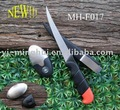 Fishing knife with hand washing stone