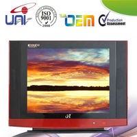 "14""color tv with Latest intelligent digital 12C control circuit"