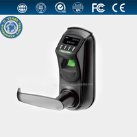 singe latch small fingerprint lock with OLED display and USB interface