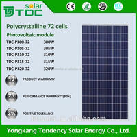 High Quality Poly 300w 310w 315w