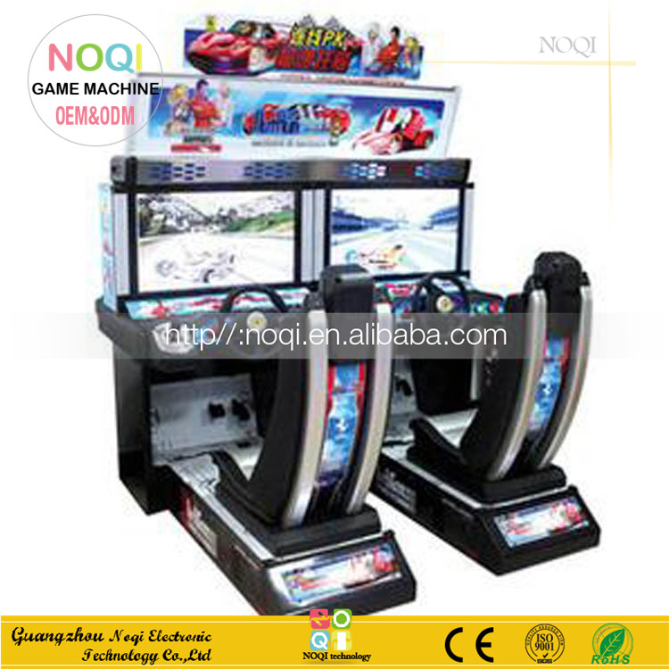 Hot sale children racing car game machine adult simulation games car video games