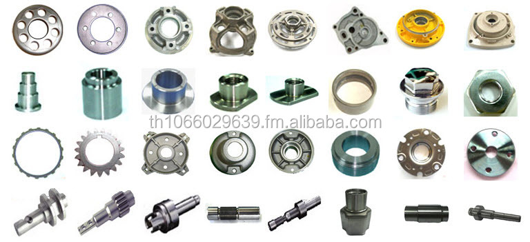Customized and High Quality CNC Motorcycle Parts from Thailand