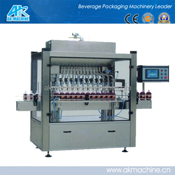 best price Line Filling machine not bubble and drop with accurate filling measurement