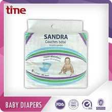 Sandra Brand africa Baby diapers popular brand made in Turkey