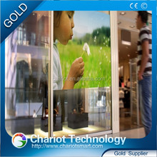 Chariot best cheap 3D holographic transparent rear projection film 1.52*30m for sale
