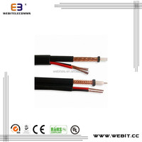 RG59 Coaxial cable,CCS/BC/TC material for CCTV&CATV RG59+2C Coaxial cable