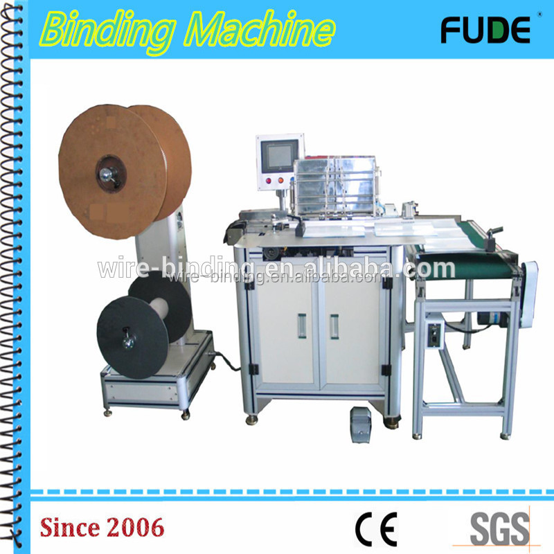 Hot selling double wire binding machine with CE certificate