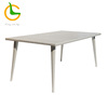 /product-detail/all-weather-white-wooden-desk-top-wicker-patio-dining-table-60755295448.html