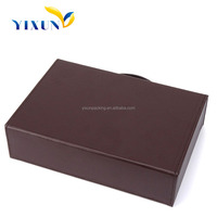 2015 New Arrival Fancy Paper Customize Handmade paper box with window