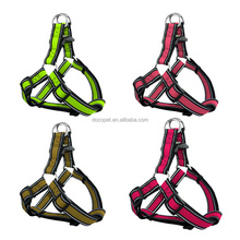 New innovative pet products reflective stitching air mesh dog harness with OEM Logo Design Available Small Purple