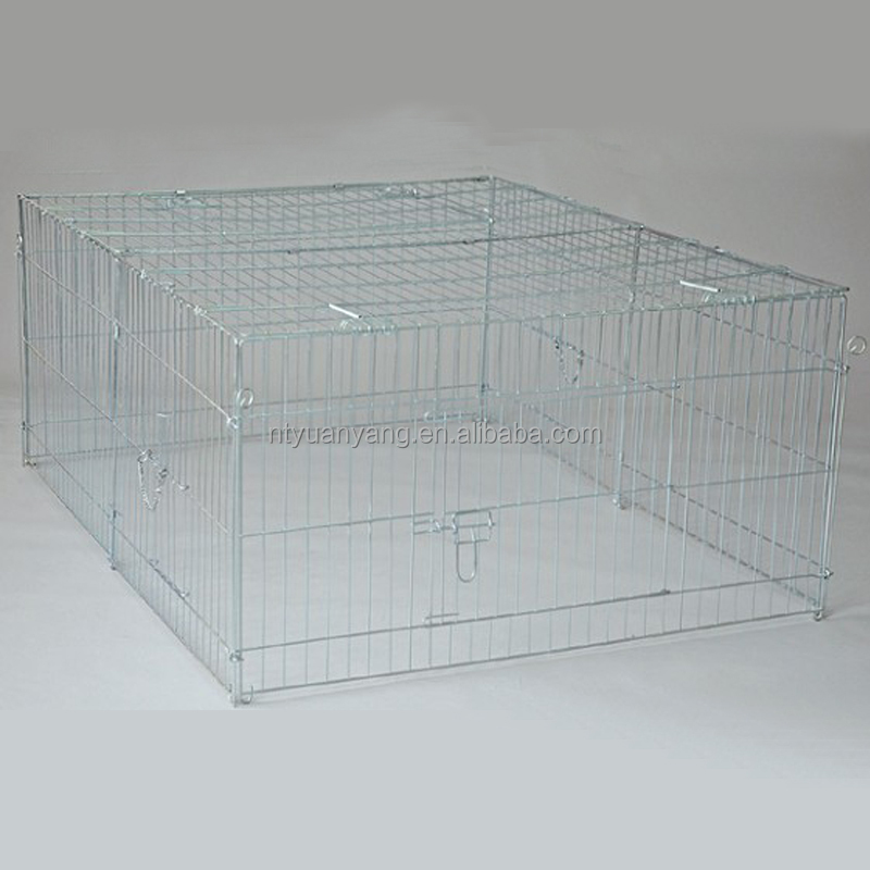 professional customized galvanized rabbit cage fence