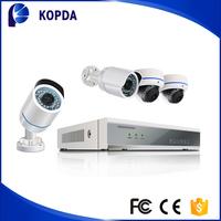 Waterproof p2p hd network wireless ip camera 1080 nvr kit