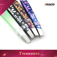 TW1254 wholesale stainless steel hair plucking tweezers