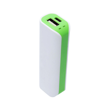 Rohs certification promotional gift 2600mah power bank cell phone charger