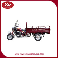 China KAVAKI Brand 200cc 2015 new style good looking transportation three wheel motorcycles with windshield hot sale for adult