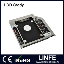 Alipay Accept 9.5mm 12.7mm Universal SATA 2nd HDD SSD Hard Drive Caddy for CD/DVD-ROM