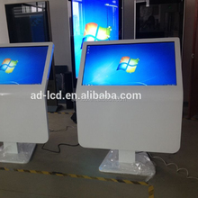 free floor standing LCD touch screen kiosk/totom/digital signage