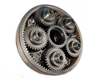 high quality rice combine harvester used spur gear wheel for driving gear
