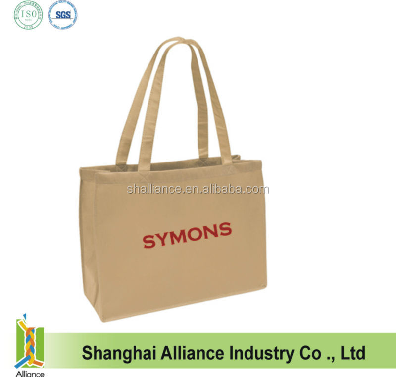 Raw material for printed carry gift recyclable garment tote pp fabric non woven bag & shopping bag