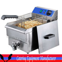 Single tank Electric Fryer(DZL-17V)