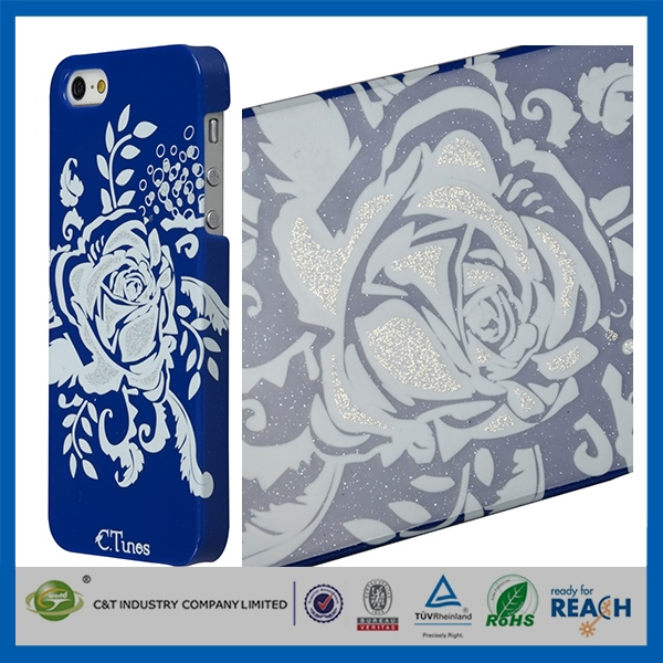 2014 New Fashion plastic case for iphone5 bow bumper