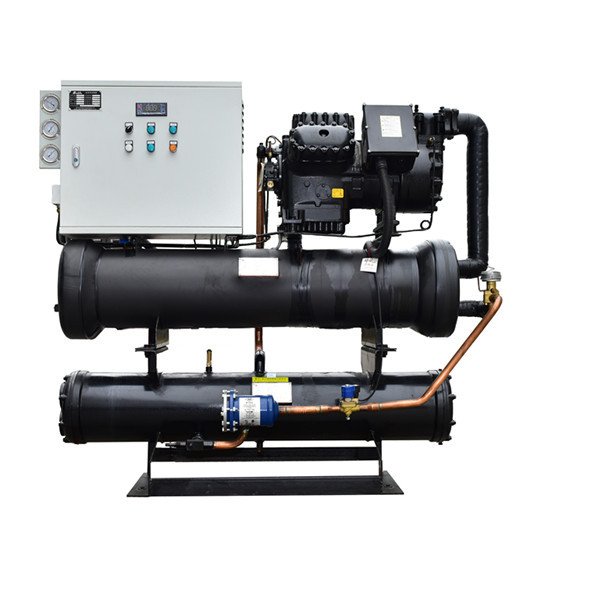 Industrial chiller cooling water system