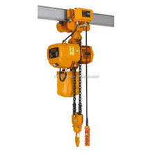 China Made 5 ton electric chain hoist with motorized trolley