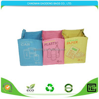 High quality Chinese factory garbage bags with drawstring