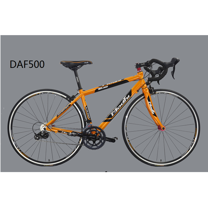DAF500 High quality china bicycle factory Road bike 9S racing bicycle 700C*430MM 6061 alloy frame 700C*23C 60TPI tyre HOMHIN