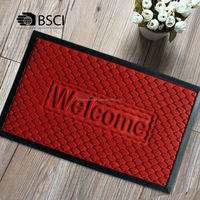Premium Quality Recycled Rubber Mats With Shoe Size