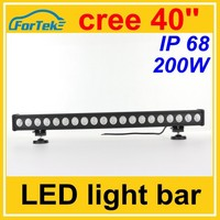 40 inch cree led light bar 200W single row