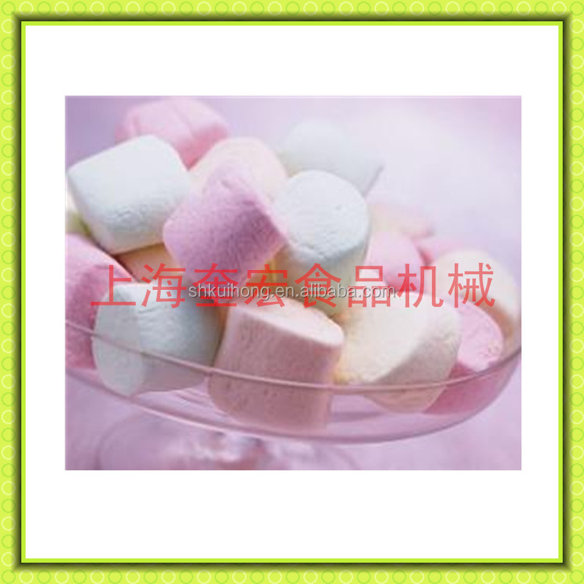 china fully automatic extruded marshmallow production line /marshmallow machine /marshmallow depositing line