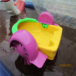 One Person Max Load Kids 60kg Paddle Wheel Pedal Boat