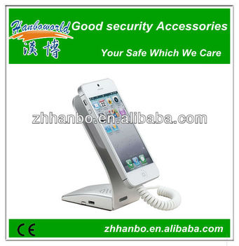 cell phone security display stand with alarm