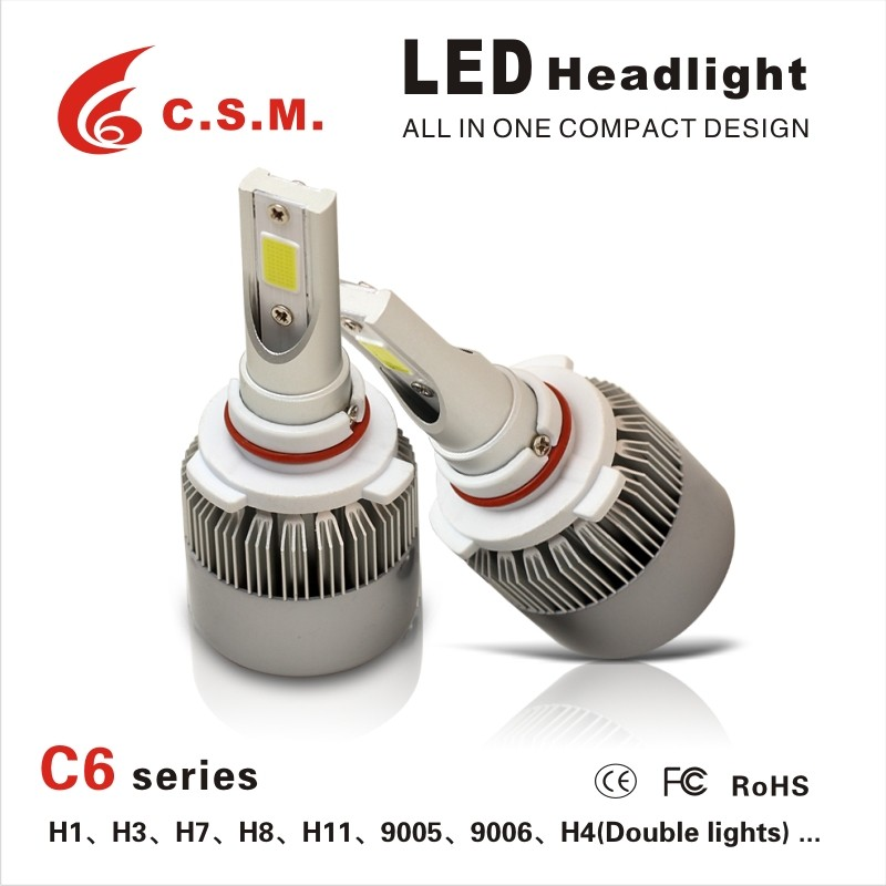 30W COB Car Lights 9006 9005 H16 H4 h11 H7 high quality 2017 Latest LED Headlight