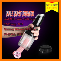 Hand-Free Male Masturbation Cup Full Silicone Sex Dolls Sexy Pussy Penis Vibrator Male Masturbation Tools