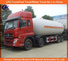 20,000liters Dongfeng lpg gas trucks 12 Wheel LPG Tanker Trucks 25,000Liters lpg tankers for sale