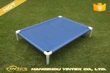 Manufacturer wholesale outdoor steel frame elevated dog beds for large dogs