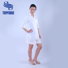 Beautician uniform made of stretched fabric perfect for beauty salon