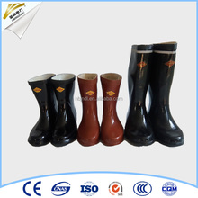 power industry insulated rubber safety boots for electrical work