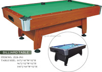 fashion cheap star billiard table /MDF billiards with zinc alloy leg levelers