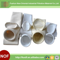 Hot selling Nonwoven dust filter bag/Baghouse bag filter for Gas Filtration