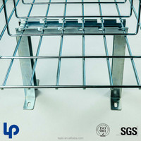 Lepin wire mesh cable tray Floor mountings