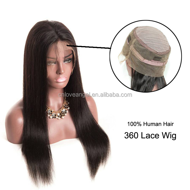 New Hot Products 360 Lace Frontal Wig 8a Brazilian Virgin Human Hair 360 Full Lace Frontal Wig Wholesale