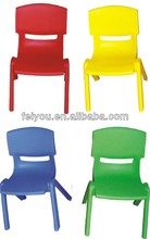 China Factory Classic chair for preschool kids LLDPE plastic desk and chair, kindergarten furniture
