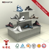 China factory Custom retail chain store display stands for slippers