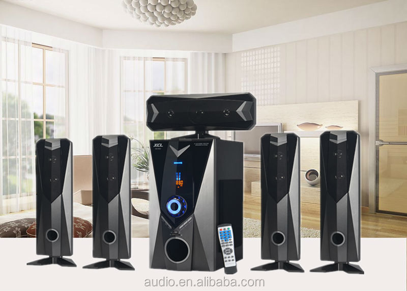 J.SUN home cinema 5.1 multimedia speaker system